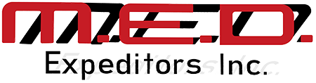 M.E.D. Expeditors Inc. Logo